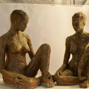 sandra jones figure sculpture