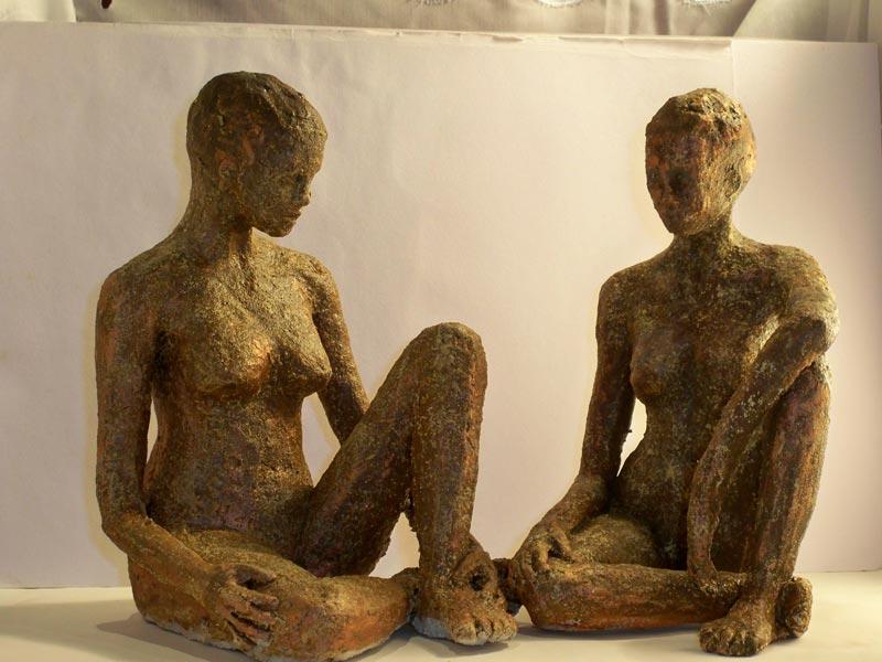 sandra jones figure sculpture