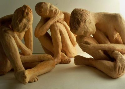 3 Sculptured Females $200  each