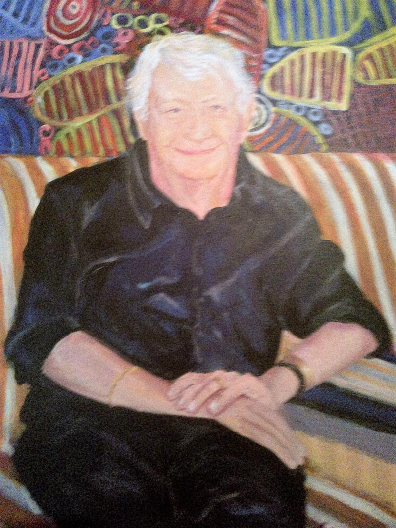 Brian's Portrait, sandra jones portrait painting, Brian's Portrait