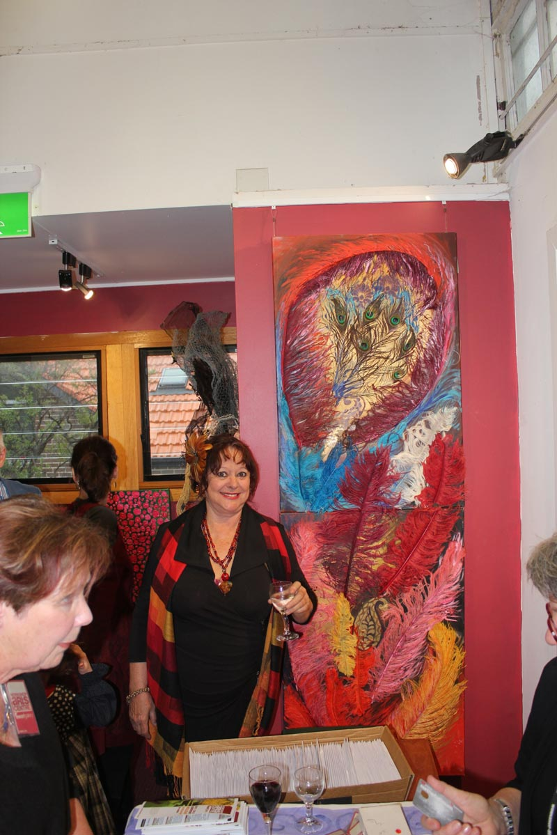 sandra jones abstract painting
