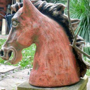 sandra jones horse sculpture