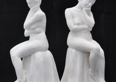 Judith 2 Porcelain Figures $2500 each