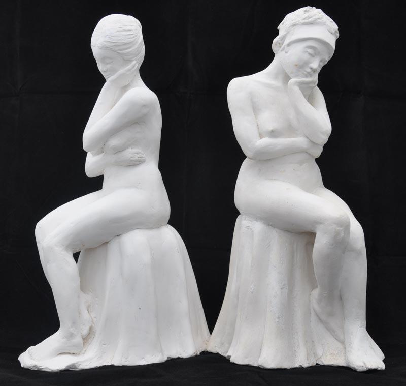 sandra jones porcelain figures
