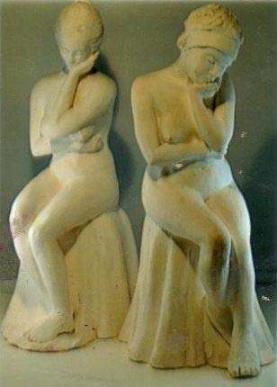 Judith Porcelain Figures $2500 each