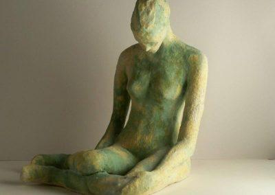 Female Stoneware Figure $250
