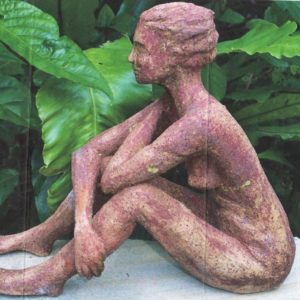 Sandra jones sculpture of female