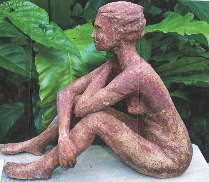 Sandra jones sculpture of female