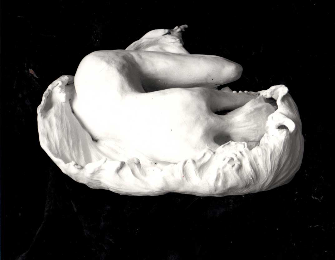 sandra jones fetus sculpture