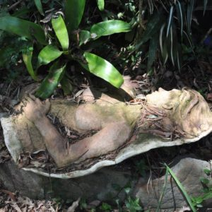 sandra jones half life size ceramic figure