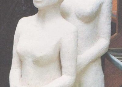 Two Large Female  Figures $650