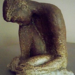 sandra jones male ceramic figure