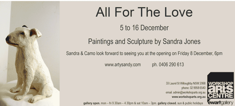 sandra jones artist exhibition, Sydney art exhibitions